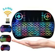 2Pcs Wireless Keyboard Fly Air Mouse Touchpad For Android Smart TV Box Projector