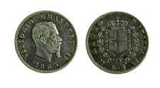 s644_50) Vittorio Emanuele II Re d'Italia (1861-1878) - 1 Lira 1863 M