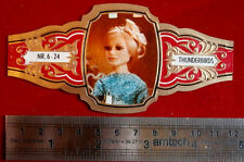 THUNDERBIRDS: FULL SET, 24 LARGE VINTAGE CIGAR bands (Netherlands, 1968)