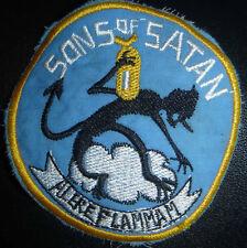 SONS of SATAN - Patch - VMSB 241 - MARINE SCOUT BOMBING - Vietnam War - WWII - L