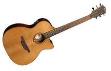 Lag Tramontane Stage 100 T100ACE Natural Gloss Acoustic Electric Cutaway Guitar