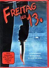 Friday the 13. / Freitag der 13. , 100% uncut , Erstauflage , DVD Region2