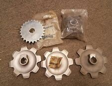2) Hobart dishwasher FT flange bearing # 81656, 3) 9 Tooth Sprockets #475502-2