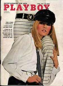 US 4/1967 April - Lisa Baker + Susan Denberg + Tish Howard
