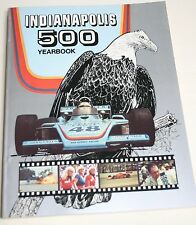 1975 HUNGNESS YEARBOOK INDY 500 INDIANAPOLIS BOBBY UNSER RUTHERFORD FOYT