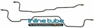 1995-99 Chevrolet GMC Suburban Tahoe Rear Axle Differential Brake Line Stainless