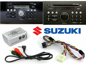 Suzuki Grand Vitara Holgado Aux Cable 3.5mm Gato Coche Ipod MP3 CTVSZX001