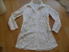 BIBA Bluse / Tunika Gr. 38 / M weiß mit Muster