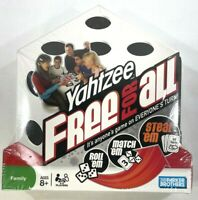 Yahtzee Free For All Board Game Great Family Fun Game Night Parker Brothers NEW
