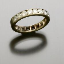 Ladies Eternity White Gold Vs Quality Diamond Ring Size 5.5
