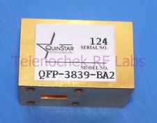 RF waveguide WR28 circulator isolator, 37-39 GHz , data