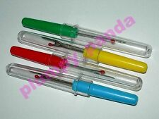 4x Seam rippers thread stitch unpickers sewing 4 colour