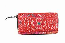 Unique Hand Embroidery Clutch Hand Bag Women Swati Fabric Patchwork Bag