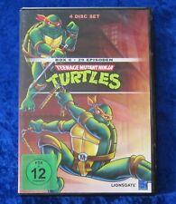 Turtles Teenage Mutant Ninja Box 6, 4 Disc Set DVD Box Staffel Season