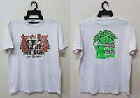 Vintage 1988 Grateful Dead NORTHWEST DEAD Tour SANTANA T-Shirt VERY RARE