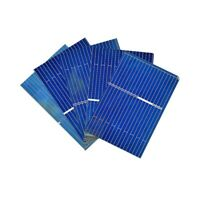 Aiyima 100pcs 39x26mm Polycrystalline Solar Panel Solar Cell Battery Charger