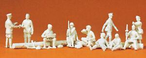 PREISER 16526 H0 Figurines Rastende Russian Infantry # New Original Packaging #