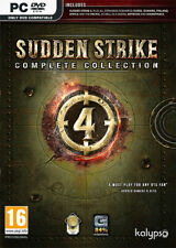 Sudden Strike 4 Complete Collection (PC)  BRAND NEW AND SEALED - QUICK DISPATCH