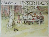 Carl Larsson 1853-1919: Unser Haus 1979 geb. Bilderbuch