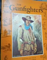 The Gunfighters Paintings and Text Lea F. McCarty Paperback Book 1991 Scenic Art