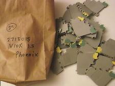 2718015 PHOENIX - QTY 4 - VIOK 1 5 NEW TERMINAL BLOCKS