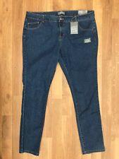 🌸 Dorothy Perkins Uk20l Long Tall Jeans Blue Stretch Slim Skinny Navy Ladies