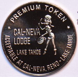 Medal Proof Club Cal-Neva Primium Token 490566 combine shipping