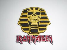 IRON MAIDEN POWERSLAVE IRON ON EMBROIDERED PATCH