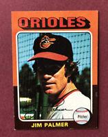 1975 Topps Mini #335 Jim Palmer HOF Baltimore Orioles GORGEOUS!