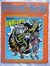 DIFFERENT WORLDS #34 (1984) DNAgents/Champions/V&V/Call Of Cthulhu • NM/VG+