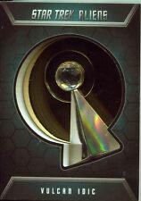 Star Trek Aliens Badge / Pin Card B1 Vulcan IDIC Badge