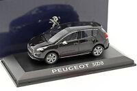 Peugeot 3008 Baujahr 2013 schwarz 1:43 Norev