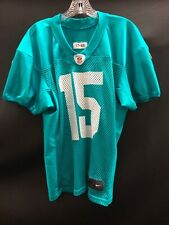 ALBERT WILSON MIAMI DOLPHINS SIGNED GAME USED PRACTICE JERSEY JSA WITNESS COA