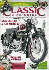 CLASSIC BIKE GUIDE-August 2018 (NEW) *Post included to UK/Europe/USA/Canada