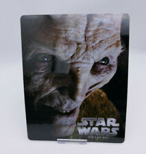 STAR WARS The Last Jedi - Glossy Bluray Steelbook Magnet Cover (NOT LENTICULAR)