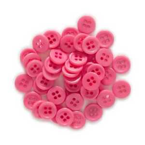 100pcs Red Resin buttons Sewing Scrapbooking Clothing Home Decor 10mm