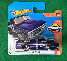 Hot Wheels 2017 67 CHEVY C10 Pick Up No Wheel Error OVP Fehler Thunt sth