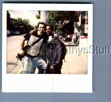 Gay Interest Polaroid R+9278 Black Man And Other Posed