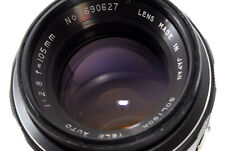 [Excellent Soligor Tele Auto 105mm f/2.8 MF Lens for M42 Mount From Japan