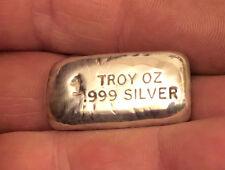 More details for 1 troy oz silver bar - new design