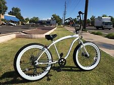 STORM TROOPER  🌴 Fat Tire Beach Cruiser Bike -NEW 7 SPEED-CUTOUT RIMS -SIKK