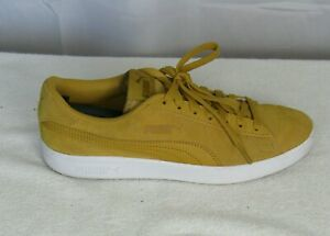 Puma Gold Suede Men's Athletic Shoe US Size 8 Pre-owned Sneakers