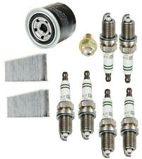 NEW Acura TL 99-03 Tune Up Kit Drain Plug & Spark Plugs & Oil Filter And Cabin