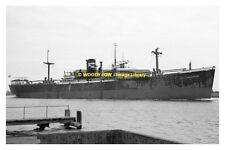 mc1105 - Dutch Cargo Ship - Stad Schiedam , built 1943 - photograph 6x4