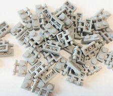 LEGO Bulk Lot of 50 Light Bluish Gray Plate Modified 1x2 Bar Handle on Side 2540