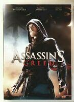Assassins Creed (DVD, 2017) No Digital