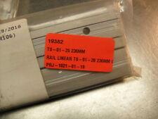 QTY 2 - Igus TS-01-20 236MM Linear Guide Rail 236MM Long Aluminum  DryLin T