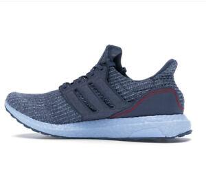 Men's adidas Ultra Boost 19 Cushioned Running Trainers in Blue UK 8 US 8.5 EU 42