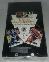 *NEW & SEALED* 1991-92 PRO SET Series 2 French Edition NHL HOCKEY BOX - 36 Packs