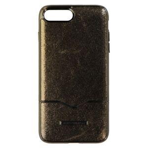 Rebecca Minkoff Slide Case Cover for Apple iPhone 8 Plus 7 Plus - Black Leather